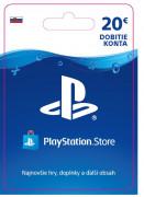 ESD SK - PS Store el. peňaženka - 20 EUR (Kód na stiahnutie) PS4