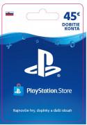 ESD SK - PS Store el. peňaženka - 45 EUR (Kód na stiahnutie) PS4
