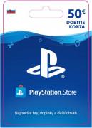 ESD SK - PS Store el. peňaženka - 50 EUR (Kód na stiahnutie) PS4