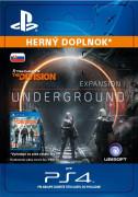 ESD SK PS4 - TOM CLANCY'S THE DIVISION underground (Kód na stiahnutie) PS4