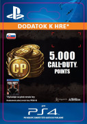 ESD SK PS4 - 4,000 (+1,000 Bonus) Call of Duty Points (Kód na stiahnutie) PS4