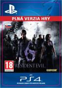 ESD SK PS4 - Resident Evil 6 (Kód na stiahnutie) PS4
