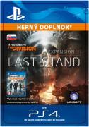 ESD SK PS4 - Tom Clancy's The Division Last Stand (Kód na stiahnutie) PS4