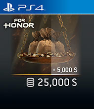 ESD SK PS4 - FOR HONOR™ 25 000 STEEL Credits Pack (Kód na stiahnutie) PS4