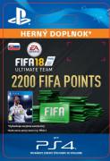 ESD SK PS4 - 2200 FIFA 18 Points Pack (Kód na stiahnutie) PS4