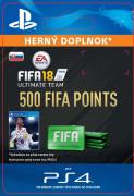 ESD SK PS4 - 500 FIFA 18 Points Pack (Kód na stiahnutie) PS4