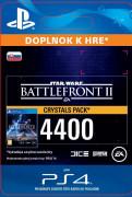 ESD SK PS4 - STAR WARS™ Battlefront™ II: 4400 Crystals (Av. 14.11.2017) (Kód na stiahnutie) PS4
