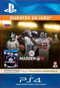 ESD SK PS4 - MADDEN NFL 18: G.O.A.T. Holiday Upgrade (Kód na stiahnutie) PS4