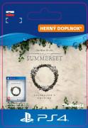 ESD SK PS4 - The Elder Scrolls® Online: Summerset™ Collector's Ed. Upgrade (Kód na stiahnutie) PS4