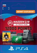 ESD SK PS4 - Madden NFL 19 Ultimate Team 12000 Points Pack (Kód na stiahnutie) PS4