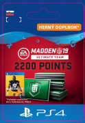 ESD SK PS4 - Madden NFL 19 Ultimate Team 2200 Points Pack (Kód na stiahnutie) PS4
