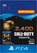ESD SK PS4 - 2,400 Call of Duty®: Black Ops4Points (Kód na stiahnutie) PS4